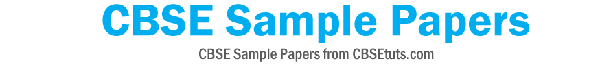 CBSE Sample Papers header image