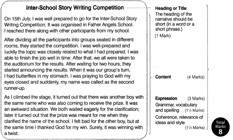 Narrative Writing Class 11 Format, Examples, Topics, Exercises 1