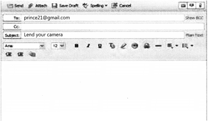 Email Writing Class 8 CBSE